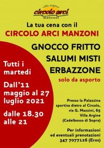 Gnocco fritto al martedì_flyer A5